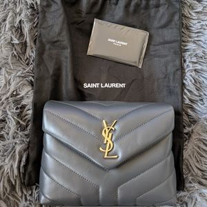 Saint Laurent Bags - YSL gray toy loulou